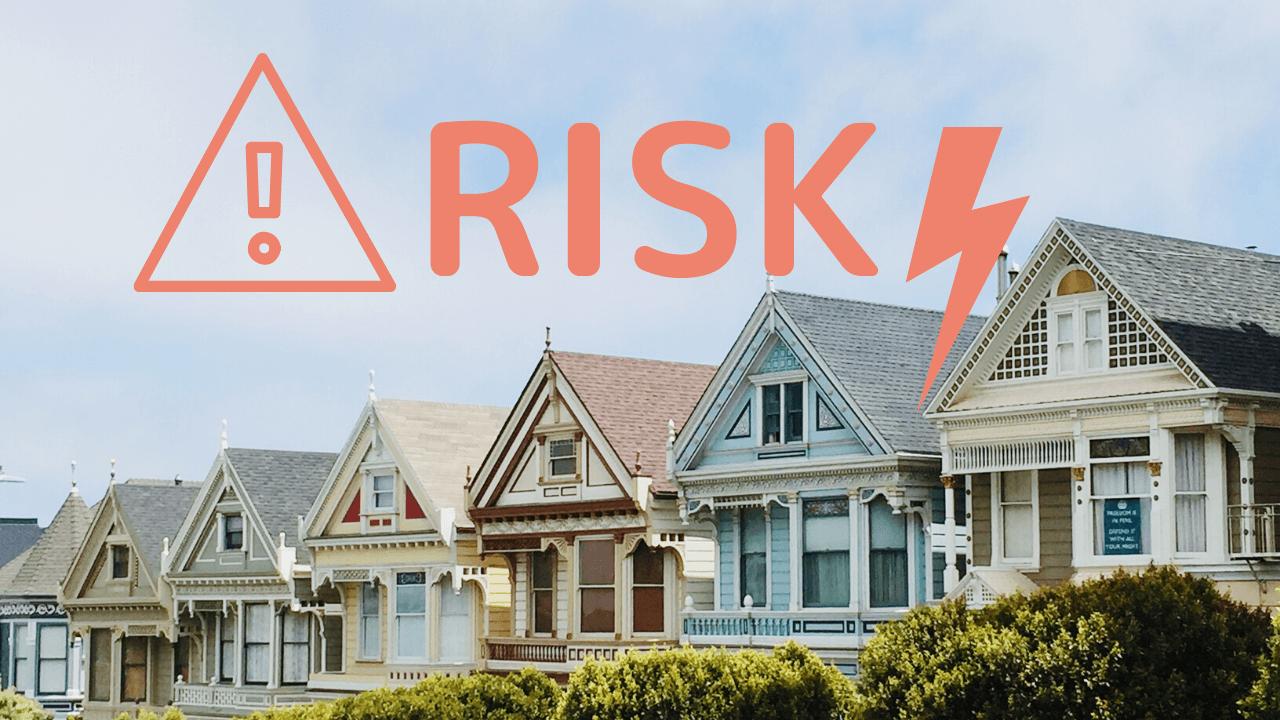 不動産投資のリスク14選【購入時・運用時・売却時】