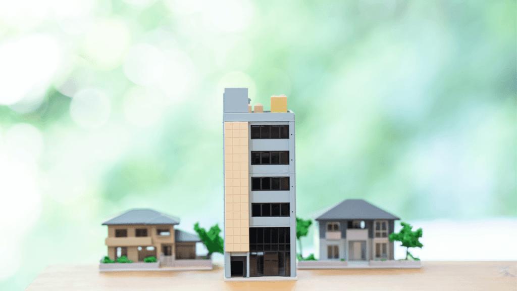 マンションと戸建て